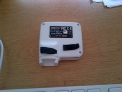 Replacement black plug / bung for PC7